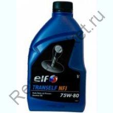 Масло трансмиссионное ELF Tranself NFJ 75W80 GL-4+ 1л
